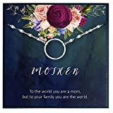 Mothers Day Gift Ideas for Mom Birthday Gift from Daughter to Mom Bracelet for Mothers Day Gifts Bracelet for Mother from Son to My Mom Gifts for Mum