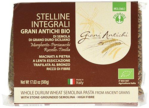 Probios Stelline Integrali Grani Antichi - 5 Confezioni da 500 gr