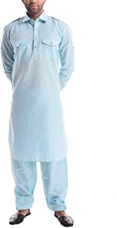Amazon in: Blues - Kurta Sets / Ethnic Wear: Clothing