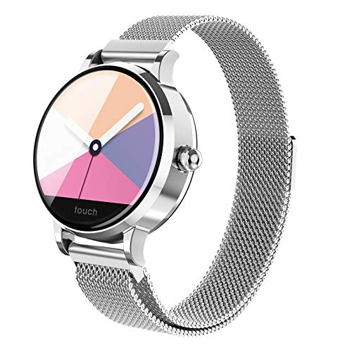 ZNSBH Smart Horloges, Gezondheid & Fitness Tracker Waterdichte Bluetooth Smartwatch Slaap Monitor Roept SMS Kennisgeving Remote Camera voor Vrouw Mannen