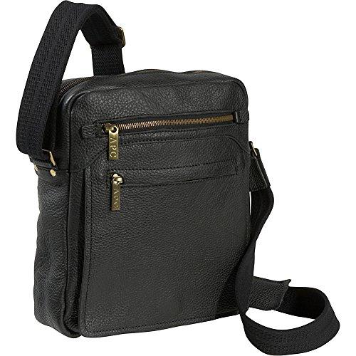 Amerileather Front Flap Messenger Bag (#702-0)