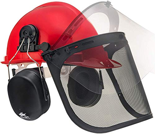 NoCry 6 in 1 Chainsaw Safety Helmet