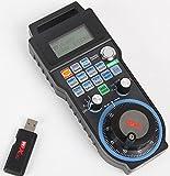 Updated Wireless USB Mach 3 MPG Pendant Handwheel CNC 4 Axis Controller