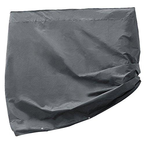 Fenteer Housse de Ping Pong Sac Protection Tableau Stockage Tissu Noir Durable