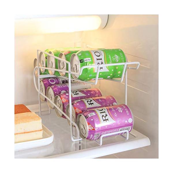 Lorenlli Contenedores para latas Bastidores de bebidas Bebidas Soda Coca-Cola