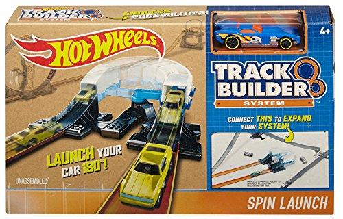 Hot Wheels Workshop Track Builder Spin Turn Track Verlängerung