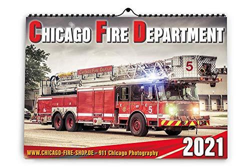 Chicago Fire Department - Kalender 2021 (A3)