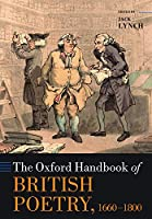 The Oxford Handbook of British Poetry 1660-1800 (Oxford Handbooks)