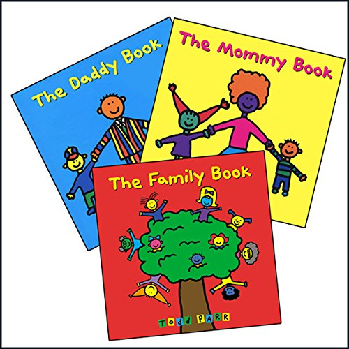 Todd Parr's Family Bundle audiobook cover art