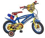 Toimsa Vélo pour Enfant sous Licence Mickey Mouse 12 Pouce de 3 à 5 Ans, 612