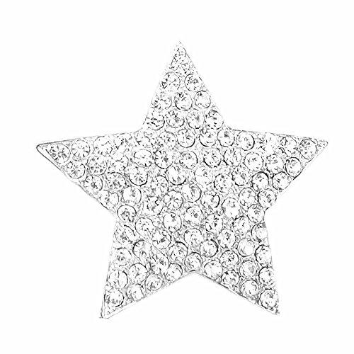 Lolita Magnetische broche voor sjaal poncho tassen strass steentjes goud zilver