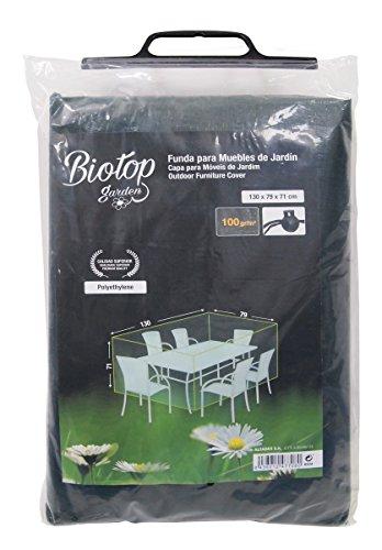 Biotop B2234 Housse de Protection pour Table et chaises Vert 130 x 79 cm