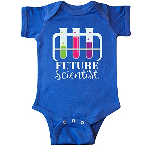 inktastic Future Scientist Chemistry Infant Creeper 6 Months Royal Blue