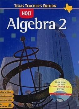 Holt Algebra 2 Texas Teacher's Edition 0030416671 Book Cover