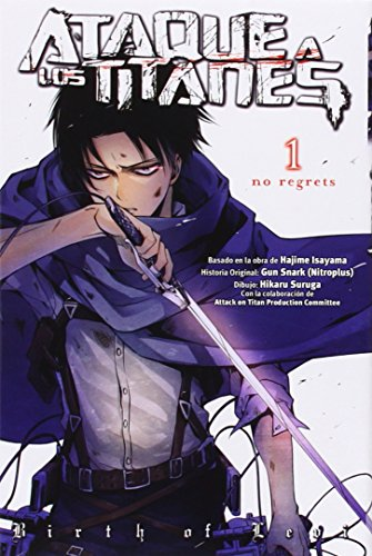 ATAQUE A LOS TITANES:01 NO REGRETS (Shojo Manga)