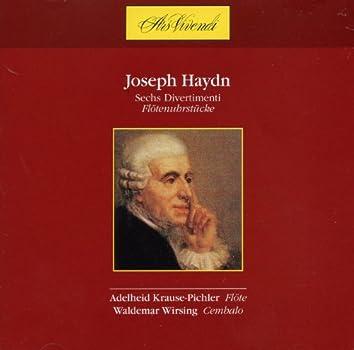 Joseph Haydn: Sechs Divertimenti Flötenuhrstucke