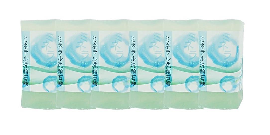 オーディションスチュアート島社会科ミネラル洗顔石鹸 150g(6個入り)