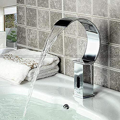 Great Deal! KONGZIR Fashion Stainless Steel Basin Faucet Stainless Steel Basin Faucet Single Cold Fa...