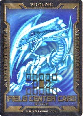 遊戯王 特製フィールドセンターカード【青眼の白龍】