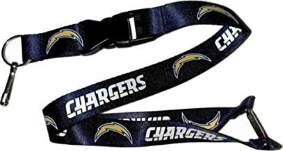 Aminco NFL Los Angeles Chargers Lanyard, Team Colors, One Size (NFL-LN-095-34)