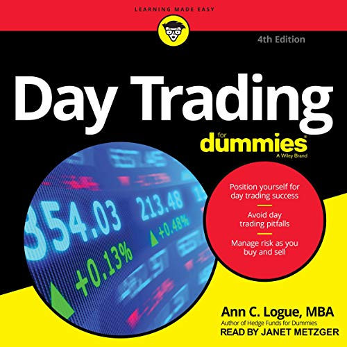 Day Trading for Dummies, 4th Edition cover art