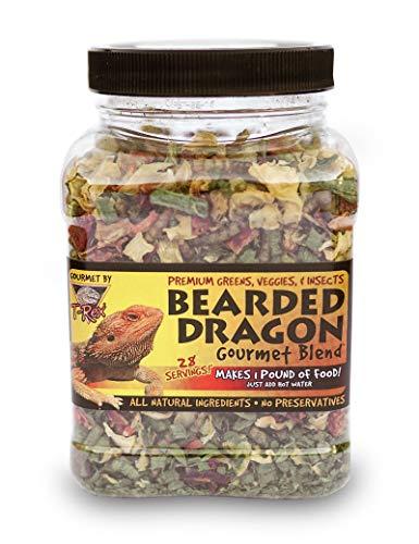 T-Rex Bearded Dragon Gourmet Food Blend