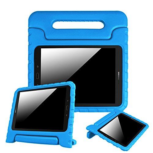 Fintie Funda para Samsung Galaxy Tab S3 9.7 2017 - Serie Infantil Peso Ligero a Prueba de Golpes Mango Convertible con Soporte para Modelo SM-T820/T825/T827, Azul