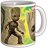 Comic Universe Guardians of The Galaxy - Taza con logotipo de Young Groot...
