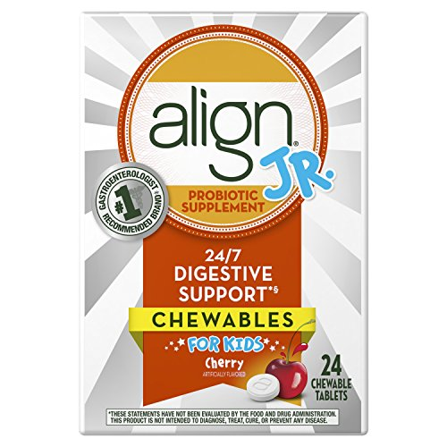 Align Jr. Chewables for Children, Daily Probiotic Supplement for Kids...
