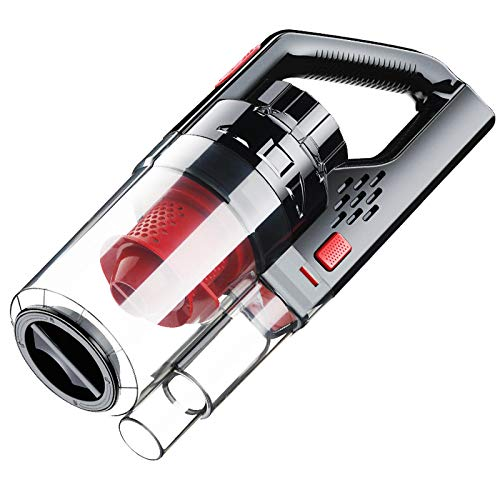 BNMMJ Auto Staubsauger Handheld 6000PA wiederaufladbar 150W für Auto Home Office drahtlosen tragbaren Staubsauger