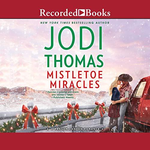 Mistletoe Miracles audiobook cover art