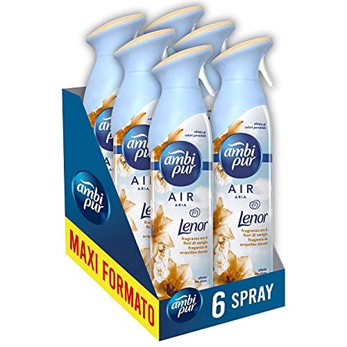 Ambi Pur Spray Profumatore per Ambienti, 6 Confezioni x...
