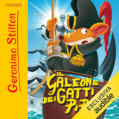 Il galeone dei gatti pirati copertina