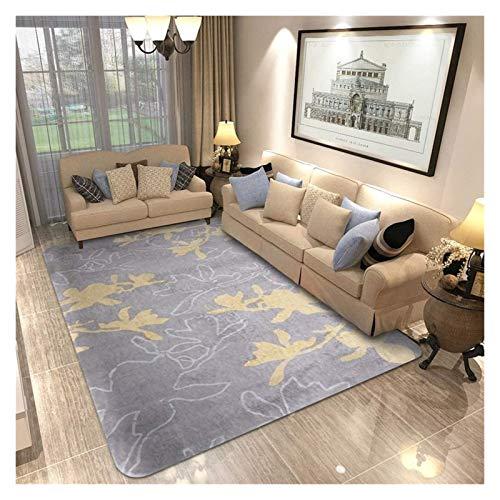 LYB Super weicher und Rutschfester Teppichboden Zuhause rutschfeste Teppich Für Das Pflaster des Wohnzimmers Wohnzimmer Schlafzimmer Weiche Teppich Multi-Color Optional