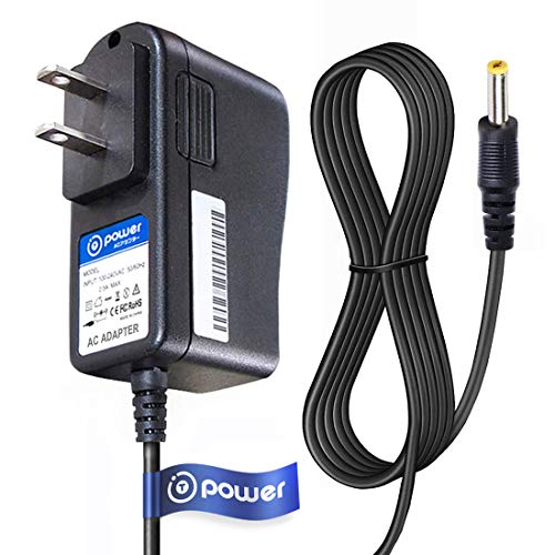 T-Power 5V (6.6ft Long Cable) AC Adapter Compatible with Zoom AD-14 AD-14A,D Q3 Q3HD R16 R24 H4n PRO AD-14D Handy Video MultiTrack Recorder Digital Voice ADS-5M-06 Switching Power Supply Cord Charger