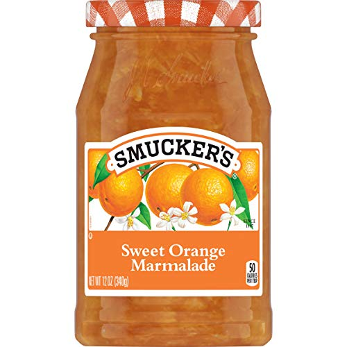 Smucker's Sweet Orange Marmalade, 12 Ounces (Pack of 6)