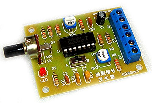 Winwill ICL8038 - Módulo generador de señal con función sinusoidal cuadrado triangular