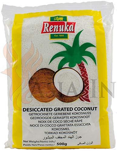 Renuka getrocknete Kokosraspeln 100% Natur 500g