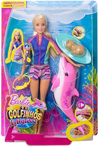 Barbie - La Magie des Dauphins - Dauphin Rose - 5
