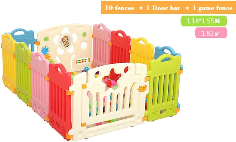 con 60% de descuento Parque de bebe, Parque Parque Parque de bebé , Castle Infant & Baby Jugarpen - 8-16 paneles de Colors - con panel de actividades, Diseño de barra de seguridad, adecuado para Niños de 0 a 3 años ( Color   B )  precios razonables