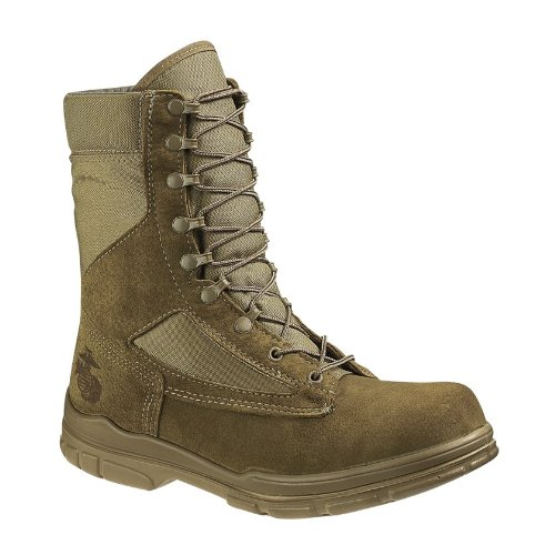 Bates Men's USMC Lightweight DuraShocks Boot Military & Tactical, Olive Mojave, 11 M US