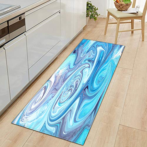 XIAOZHANG Bedroom Runner Mat Carpet Chic decorative texture Coral Fleece modern Entrance Living Room Door Mat Bedroom Bathroom Kitchen Non slip washable utility 60x90CM