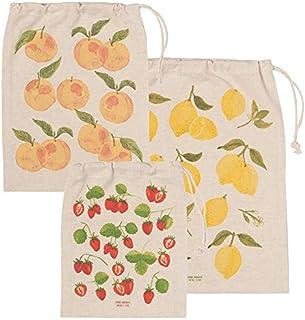 Now Designs by Danica Fruit Salad Reusable Produce Bag, Set of 3