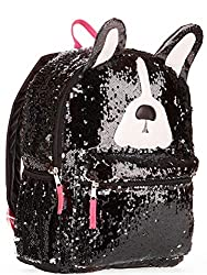 Puppy Dog Sequin Backpack with 2 Way Sequins