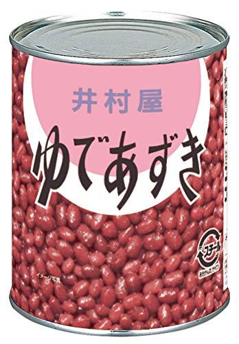 井村屋 ゆであずき2号缶 1000g ×12個
