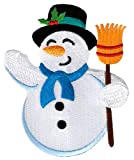 Snowman Patch Embroidered...image