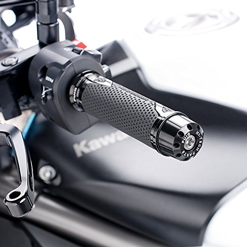 Lenkerenden aus Aluminium Puig für Yamaha YZF-R1 1998-2014 , YZF-R6 2006-2014 schwarz kurz