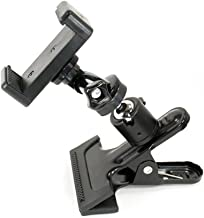 Livestream Ball Head Clamping Phone Mount System: Includes Metal Clamp, Tripod Adapter, Screw Adapter & Smartphone Holder ...
