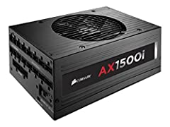 The best enthusiast PC power supply you can own 80 PLUS Titanium certified efficiency Flat black, Low-Profile Modular Cables 1500 watts of reliable, continuous power delivery.Engineered to meet maximum power output at a server-grade 50°C temperature ...