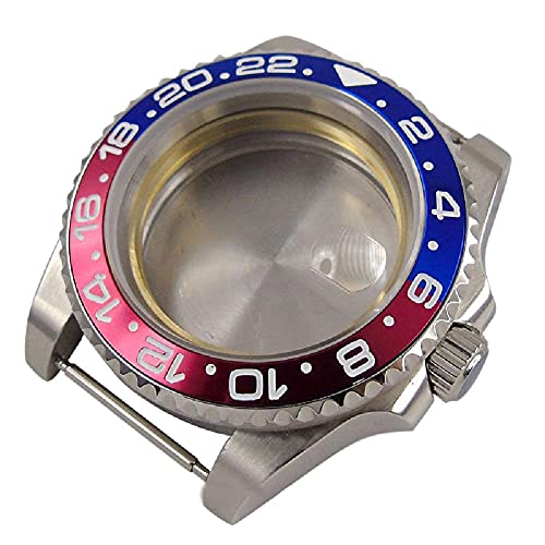1 cubierta impermeable de cristal de zafiro para reloj suizo ETA 2824 movimiento
